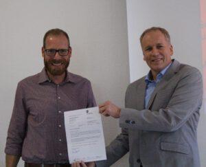 Herr Fögeding ist neuer Stellvertretender Schulleiter