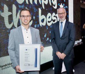 Bankkaufmann Steffen Benjak ist Landessieger