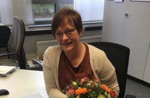 Du wirst uns fehlen: Schulsekretärin Karin Berndsen geht in Rente